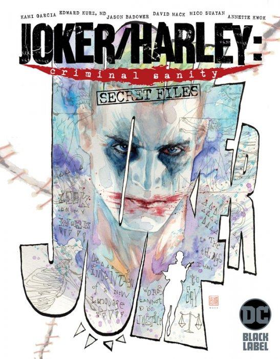 Joker - Harley - Criminal Sanity - Secret Files #1