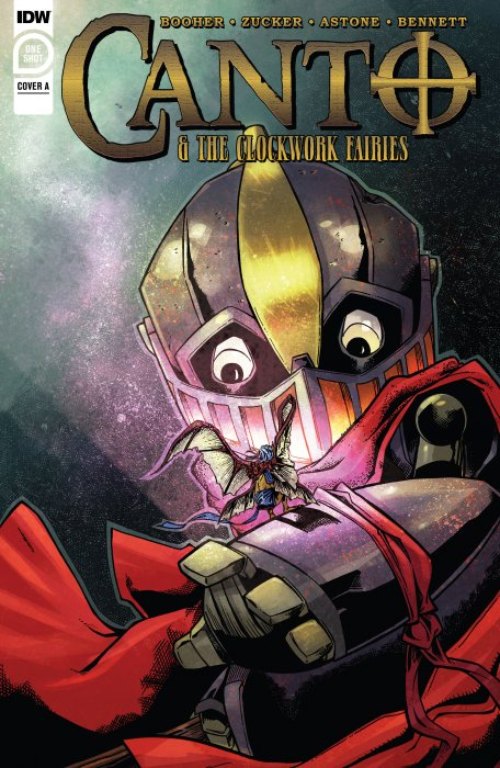 Canto & the Clockwork Fairies #1