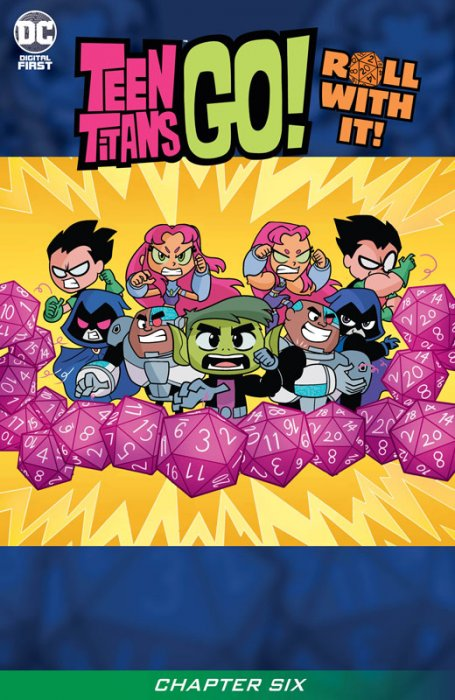 Teen Titans Go! Roll With It! #6