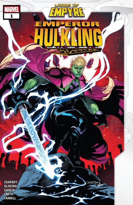 Lords of Empyre - Emperor Hulkling #1