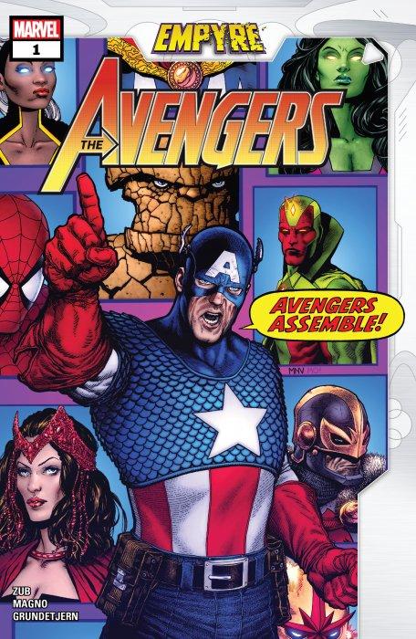 Empyre - Avengers #1