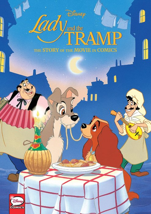 Disney Lady and the Tramp - The Story of the Movie in Comics #1 - HC