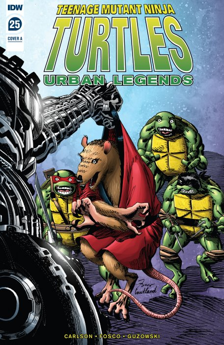 Teenage Mutant Ninja Turtles - Urban Legends #25