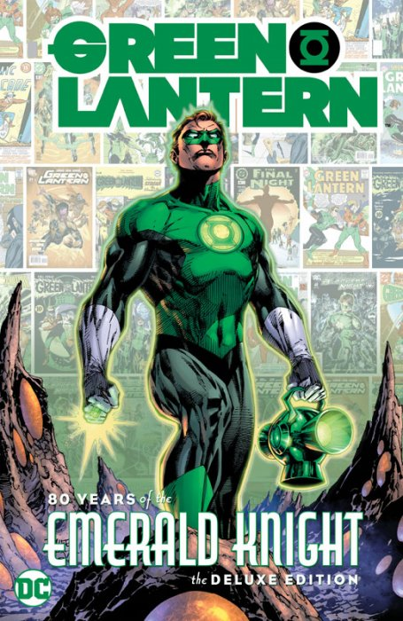 Green Lantern - 80 Years of the Emerald Knight The Deluxe Edition #1 - HC