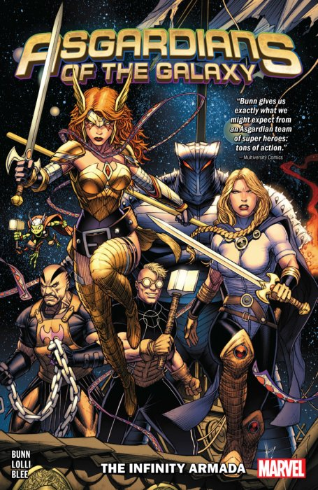 Asgardians of the Galaxy Vol.1 - The Infinity Armada