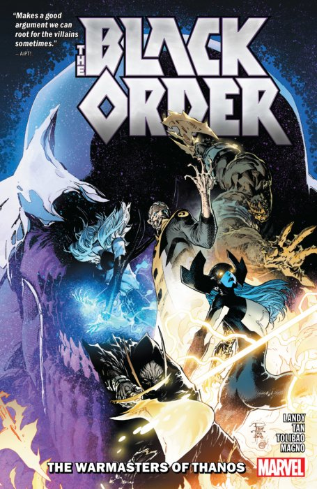 Black Order - The Warmasters of Thanos #1 - TPB