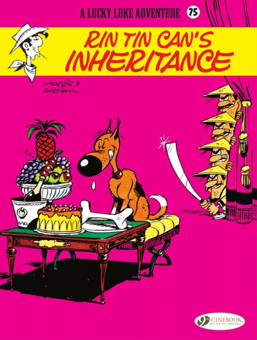 Lucky Luke #75 - Rin Tin Can's Inheritance