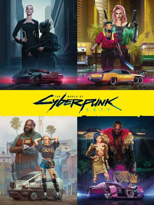 The World of Cyberpunk #2077
