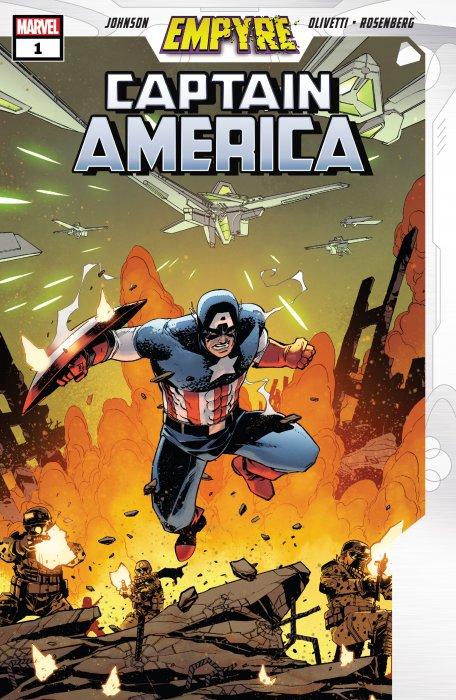 Empyre - Captain America #1