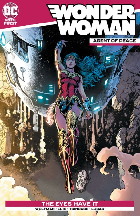 Wonder Woman - Agent of Peace #10