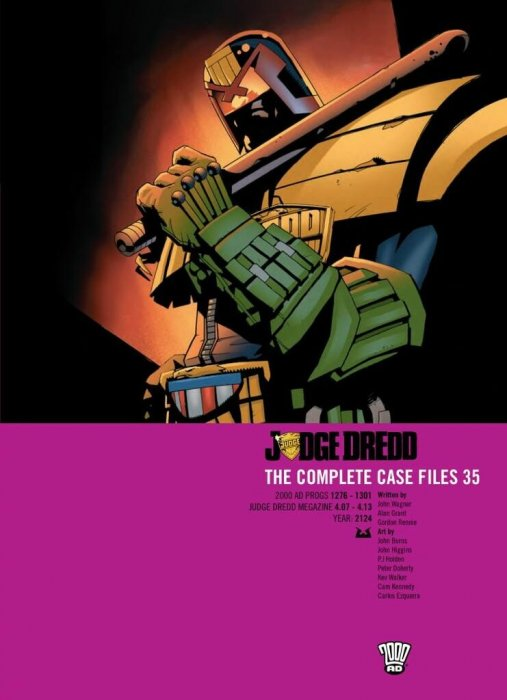 Judge Dredd - The Complete Case Files Vol.35