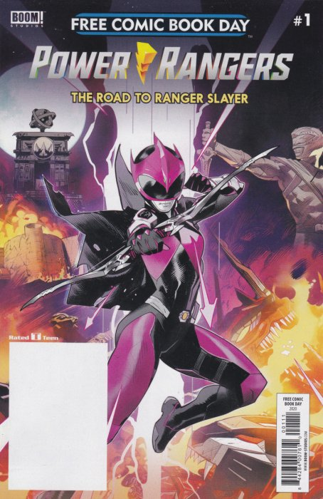 Power Rangers - Road to Ranger Slayer - FCBD 2020 #1