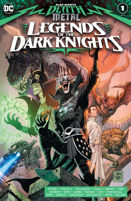 Dark Nights - Death Metal - Legends Of The Dark Knight #1