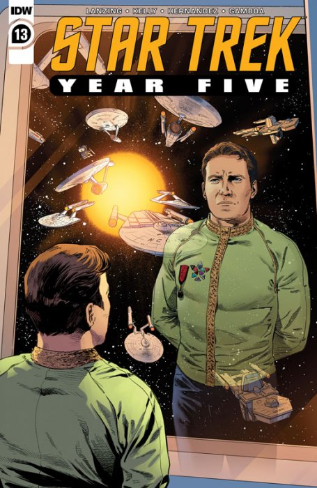 Star Trek - Year Five #13