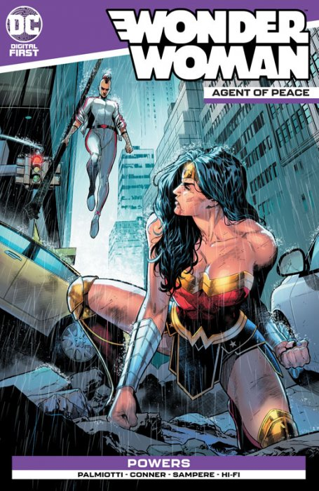 Wonder Woman - Agent of Peace #11