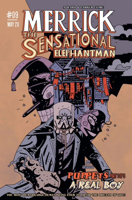 Merrick - The Sensational Elephantman #9