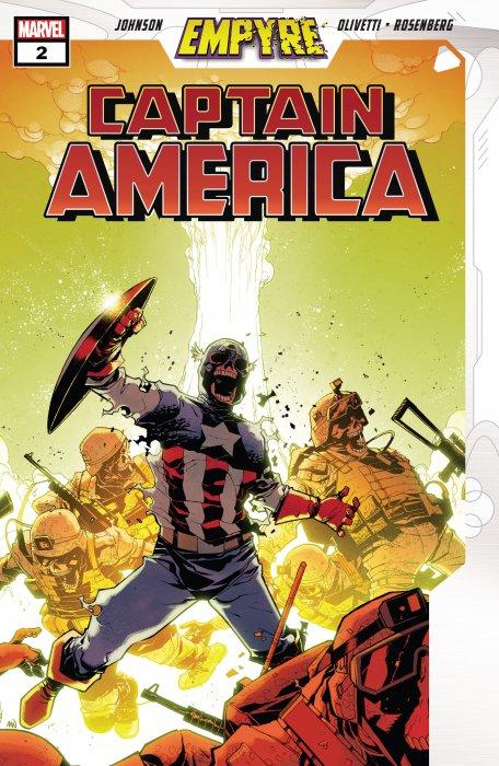 Empyre - Captain America #2