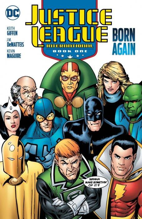 Justice League International - Book 1 - Born Again