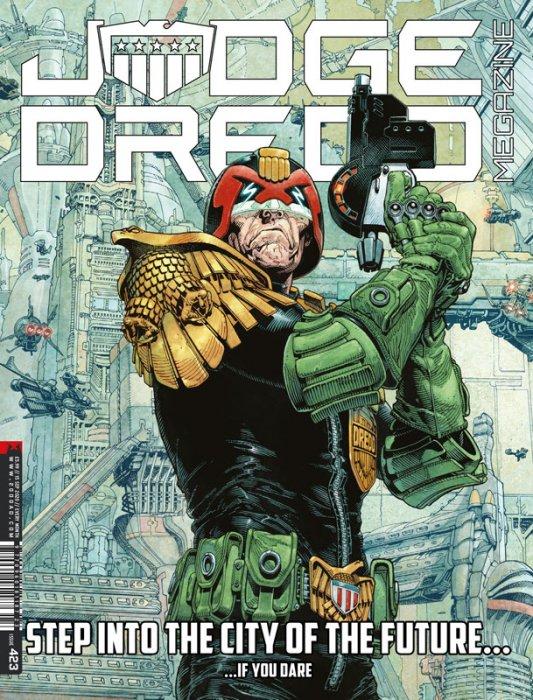 Judge Dredd Megazine #423