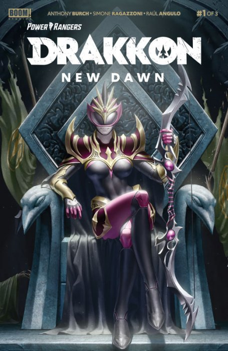 Power Rangers - Drakkon New Dawn #1