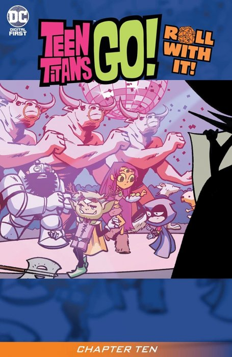 Teen Titans Go! Roll With It! #10