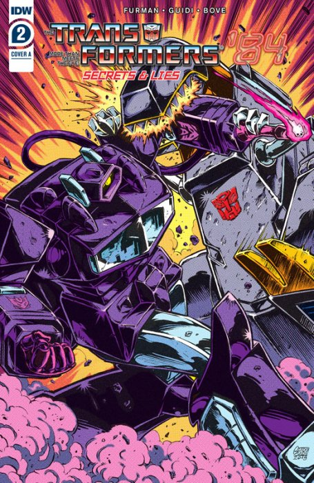 Transformers '84 #2 - Secrets and Lies