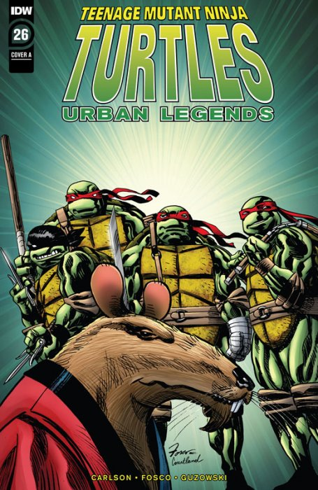 Teenage Mutant Ninja Turtles - Urban Legends #26