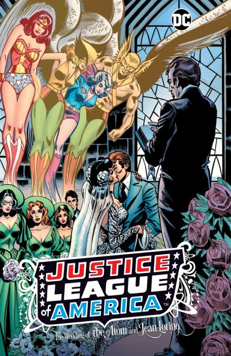 Justice League of America - The Wedding of the Atom and Jean Loring #1 - HC
