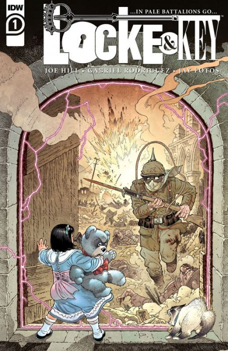 Locke & Key - ...In Pale Battalions Go... #1