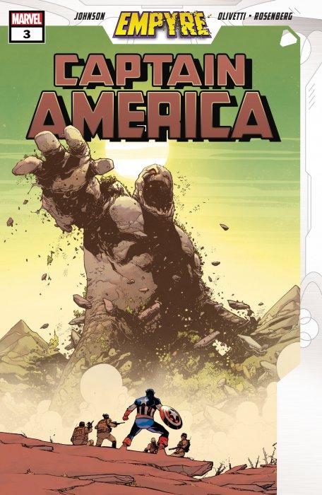 Empyre - Captain America #3