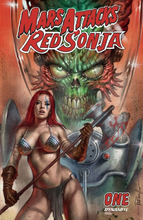 Mars Attacks - Red Sonja #1