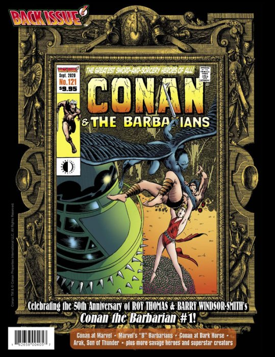Back Issue #121 - Conan and the Barbarians Issue