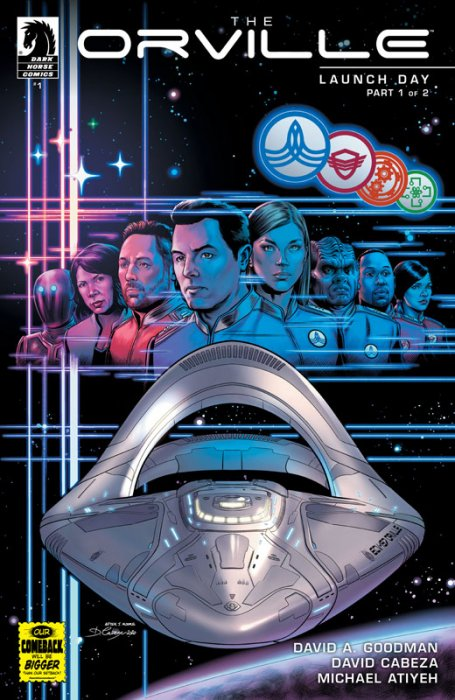 The Orville #1 - Launch Day Part 1
