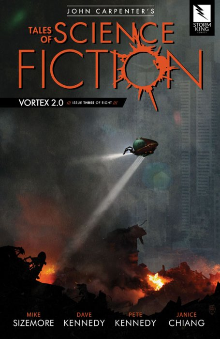 John Carpenter's Tales of Science Fiction - Vortex 2.0 #3