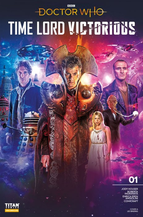 Doctor Who - Time Lord Victorious #1