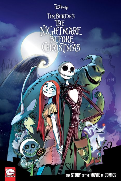 Disney Tim Burton's the Nightmare Before Christmas - The Story of the Movie in Comics #1 - GN