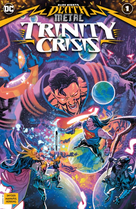 Dark Nights - Death Metal - Trinity Crisis #1