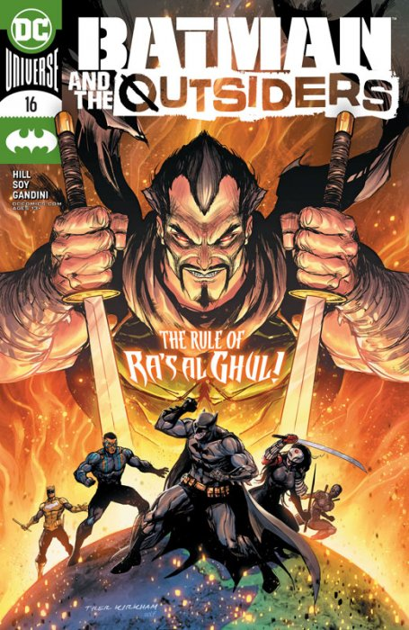 Batman & the Outsiders #16
