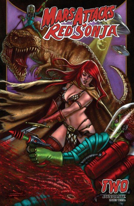 Mars Attacks - Red Sonja #2