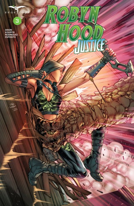 Robyn Hood - Justice #3