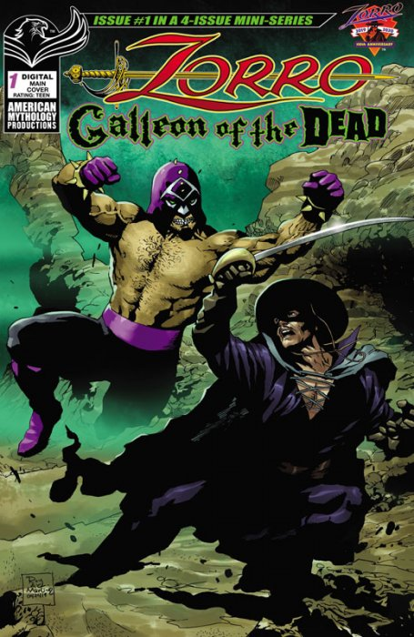 Zorro - Galleon of the Dead #1