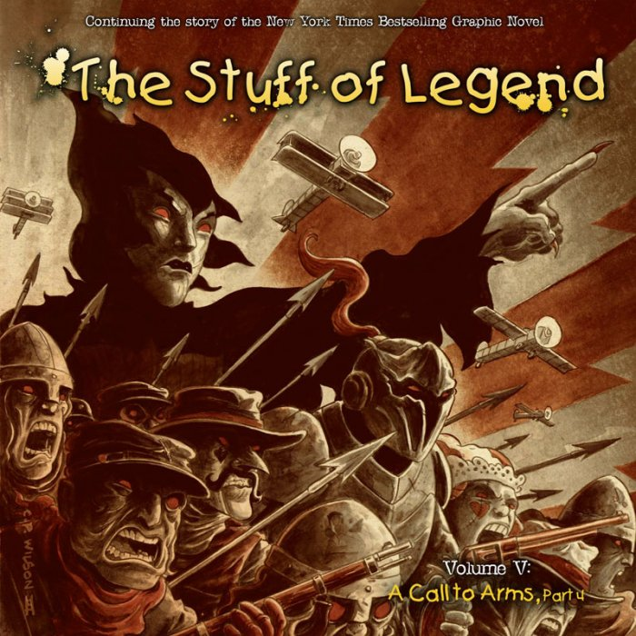 The Stuff of Legend Vol.5 - A Call to Arms #4