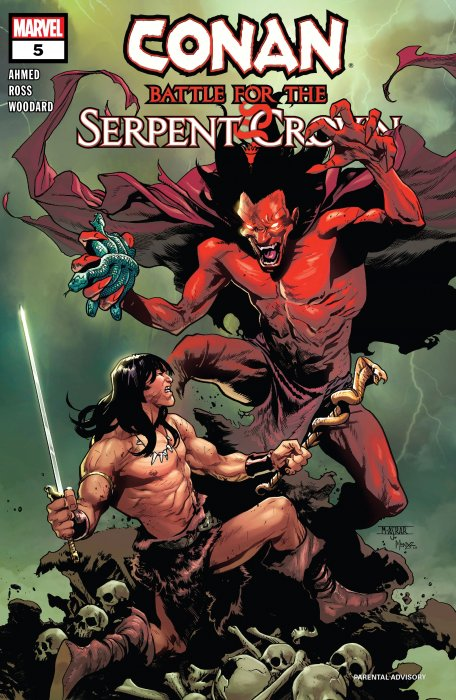 Conan - Battle For The Serpent Crown #5
