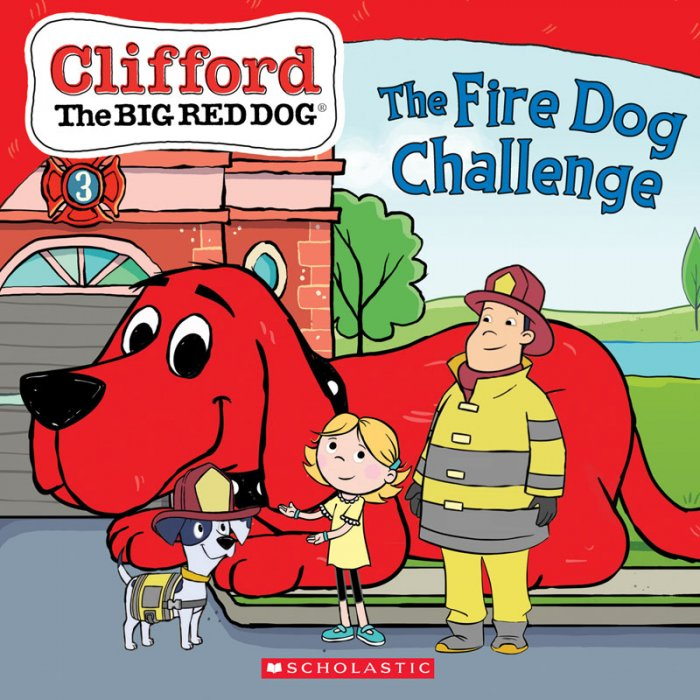 Clifford the Big Red Dog - The Fire Dog Challenge #1