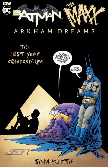 Batman - Maxx - Arkham Dreams - The Lost Year Compendium #1