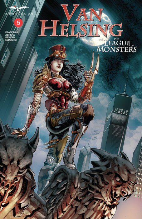 Van Helsing vs. the League of Monsters #5