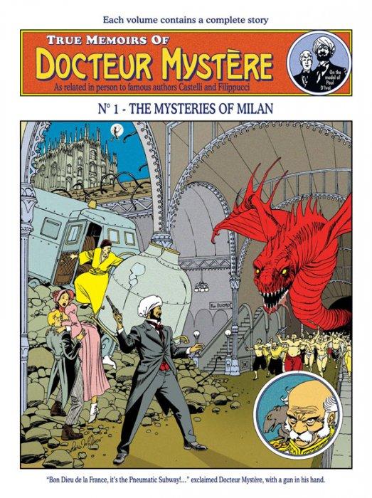 Docteur Mystère #1 - The Mysteries of Milan