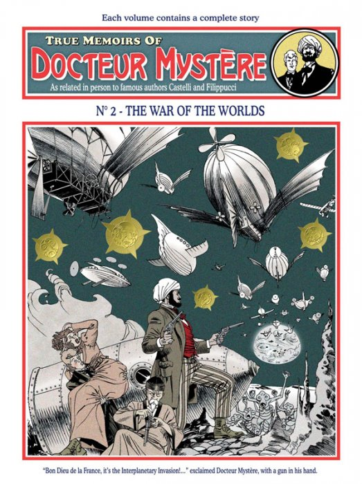 Docteur Mystère #2 - The War of the Worlds