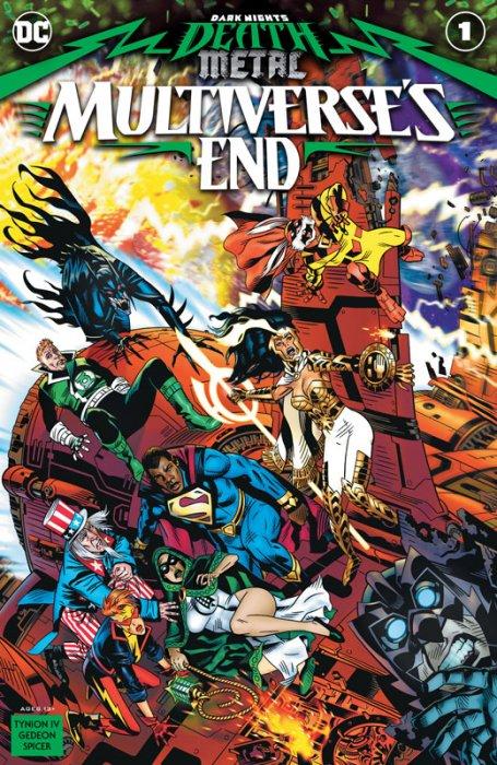 Dark Nights - Death Metal - Multiverse's End #1