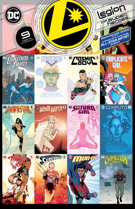 Legion of Superheroes #9
